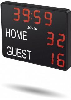 Bodet Spielstandsanzeige K-BT2025 CLASSIC V2 : 2 Ziffern - 1500x1130x84,5 mm
