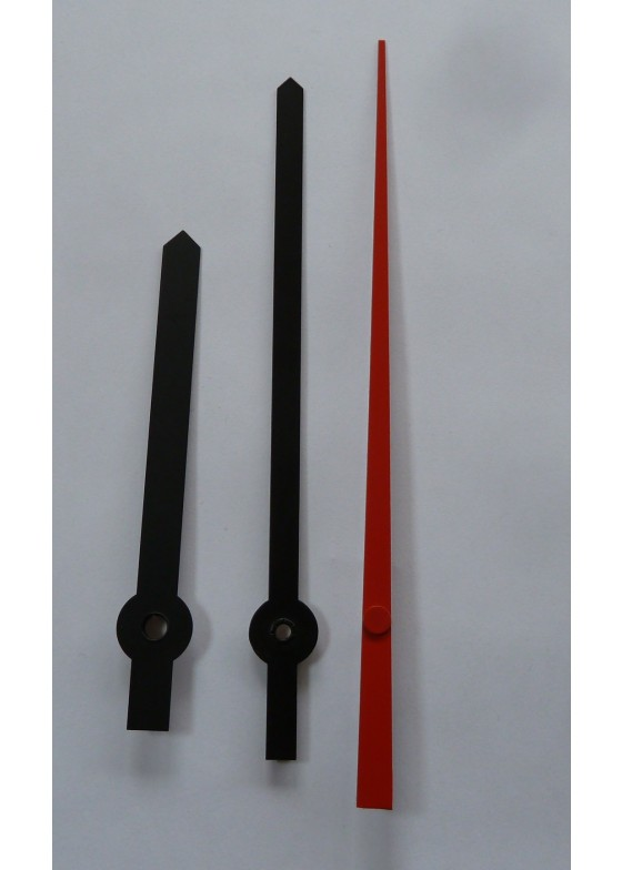 Clock hands for movement K-W6 and 30cm diameter dial