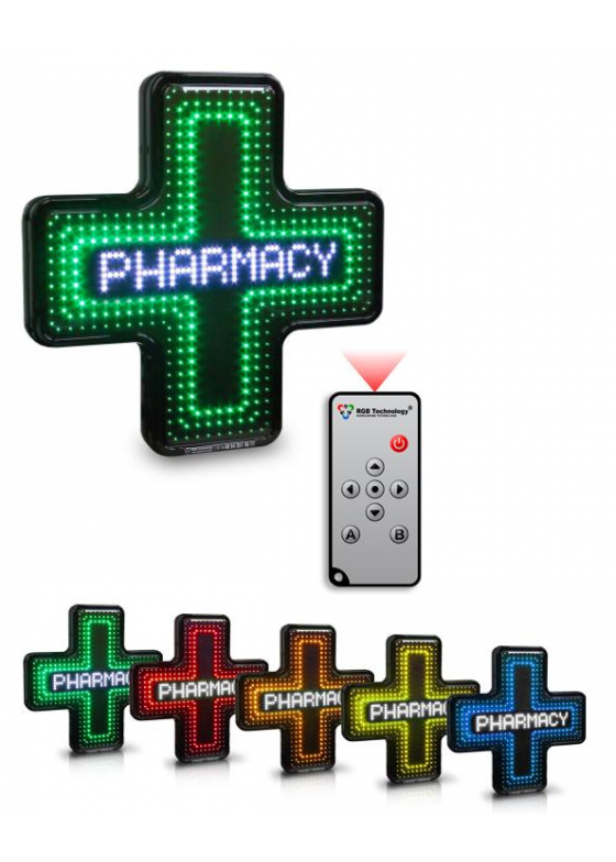 LED pharmacy cross Prestige Line