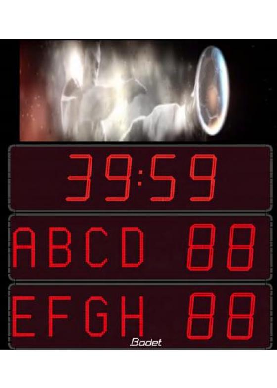 K-BTVDW-P3, LED Video-Modul für Außenbereich