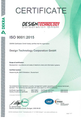 ISO Certificate Design Technology